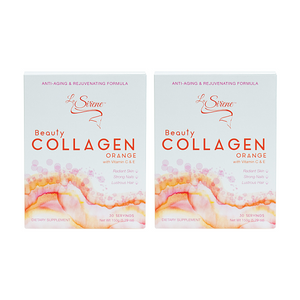 Orange Beauty Collagen - Forever Young Duo - La Sirene Beauty Marine Collagen,