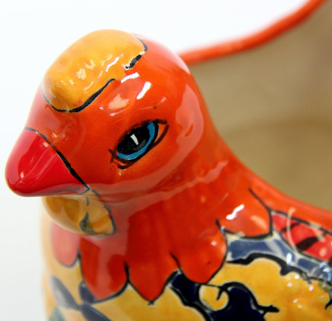 Chicken Planter - Orange Sevilla Colour