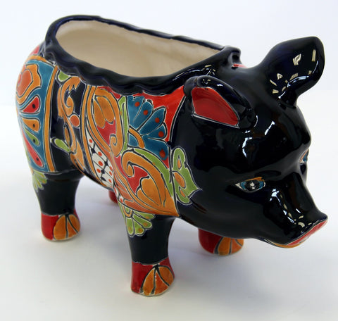 Little Pig Planter, Talavera Colour