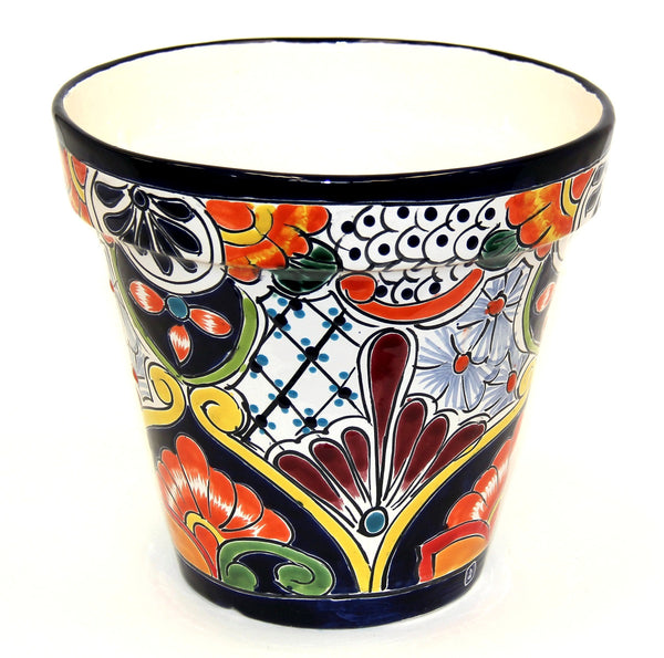Large Silao Pot #8 - Puebla Colour