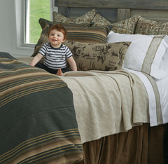 Repin! Gorgeous Traditional Linens Custom Bedding
