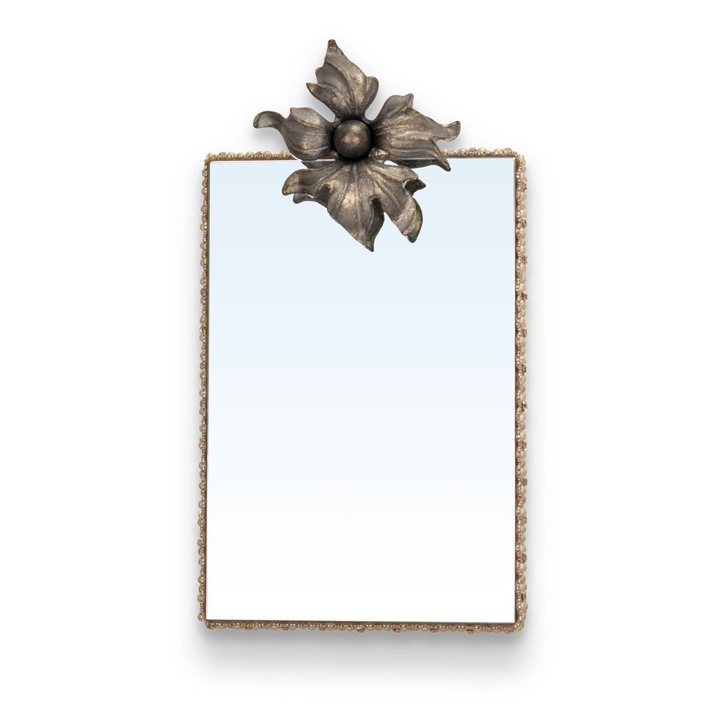 REPIN - Adelaide Flower Iron Mirror - found on www.sophiakhome.com