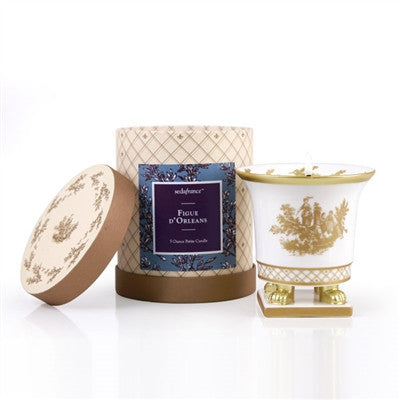 Toile Petite Ceramic Candle - Figue D'Orleans Classic