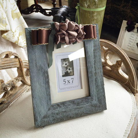 SK COLLECTION - Antiqued Photo Frame 5x7
