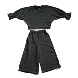 Stylish Play Clothes Set - Grey