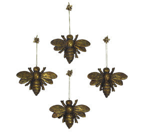Great Garden Decor - Bee Ornaments found on www.sophiakhome.com