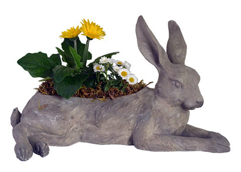 LAYING BUNNY PLANTER