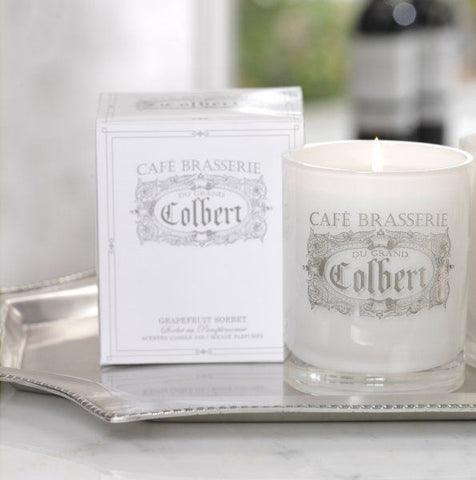 Wax Filled Jar Candle - Café Brasserie / Grapefruit Sorbet - Assorted Sizes