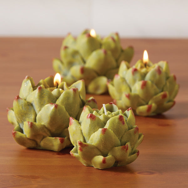 Artichoke Candles - Assorted Sizes