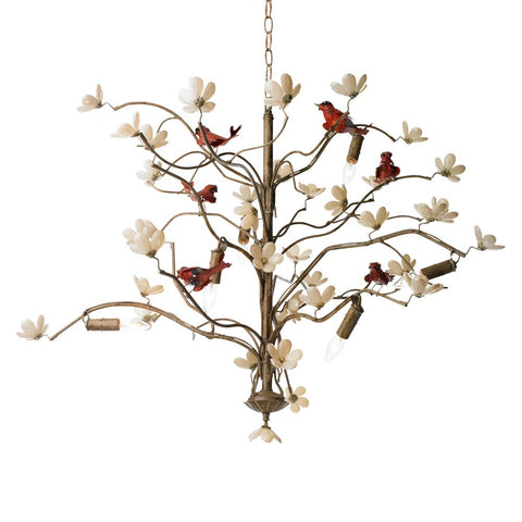 Canopy Designs Bird and Blossom Chandelier