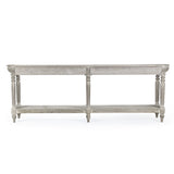 Bryce Rustic Wood Console Table