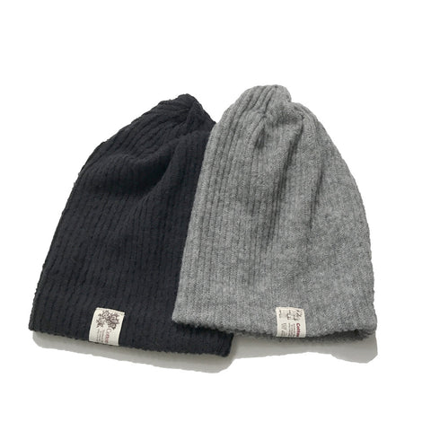 Kids Hats - Wool Beanie with Fleece Liner - Assorted