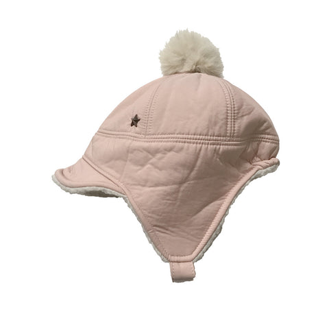 Kids Hats - Winter Cap with Faux Fur Liner - Assorted