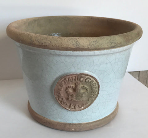 Low Planter Duck Egg Blue - Medium