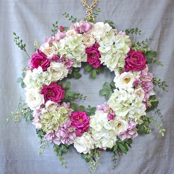 SK Collection Floral Wreath I Pinks