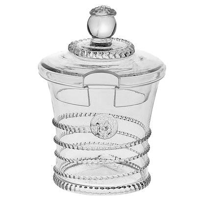 "Juliska ""Amalia"" Sugar/Jam Pot 6oz"