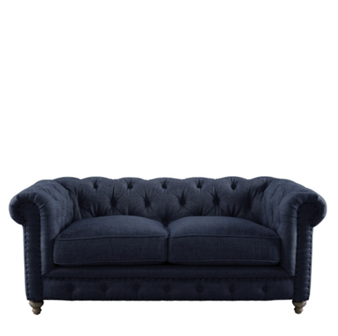 "SK Collection Kids | 57"" KIDS CLUB SOFA in Indigo"