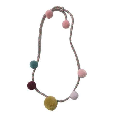 Necklace for Kids - Pom Pom