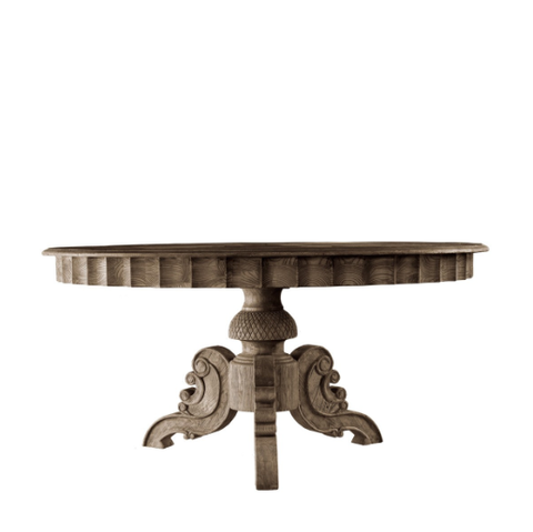SK Collection Dining Table | FRENCH ROUND TABLE Assorted Sizes