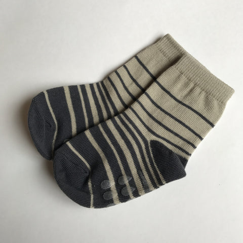 Toddler No-Slip Ankle Socks - Cute Graphic Design
