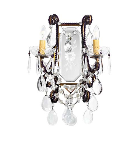"Crystal Sconce ""Juliet"""