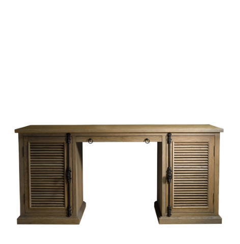 SK Collection Desks | BRITANIA SHUTTER OAK DESK