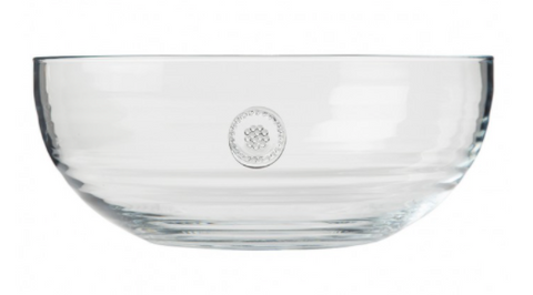 Juliska Berry & Thread Clear Salad Bowl