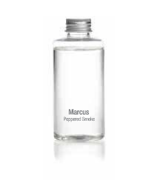 Bust Marcus / Peppered Smoke Scent Porcelain Diffuser - Oil Refill