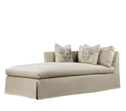 SK Collection Chaise | WALTEROM CHAISE LAF in Beige