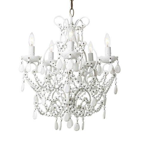 Canopy Design Black Florentine Crystal Chandelier