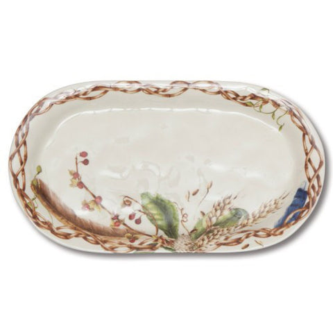 "Juliska ""Forest Walk"" - Ceramic Hostess Tray *GIFT ITEM"