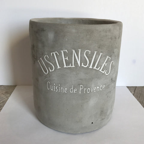 Stone Cement Utensils Pot