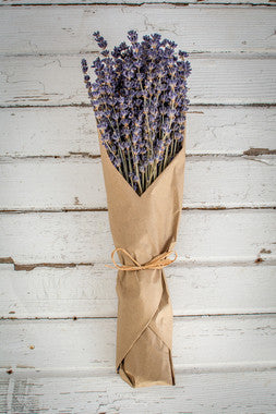 French Lavender Bundle in Kraft Paper Wrap