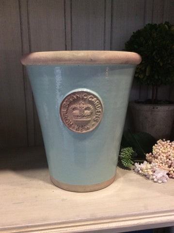 Long Tom Pot Tiffany Blue - Large