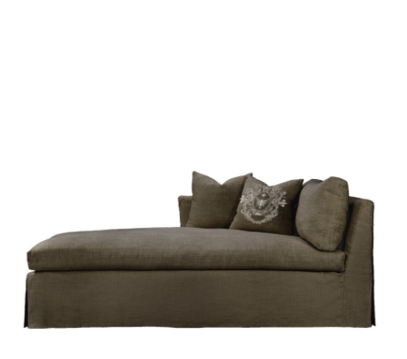 SK Collection Chaise | WALTEROM CHAISE LAF in Brown