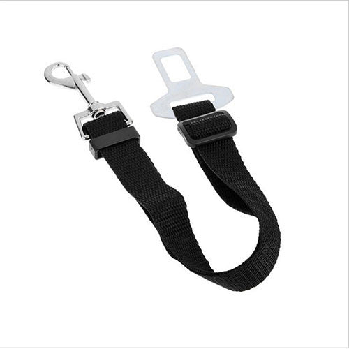 Adjustable Dog Car Safety Seat Belt Collar