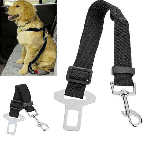 Free Adjustable Safety Car Seat Belt for Dogs