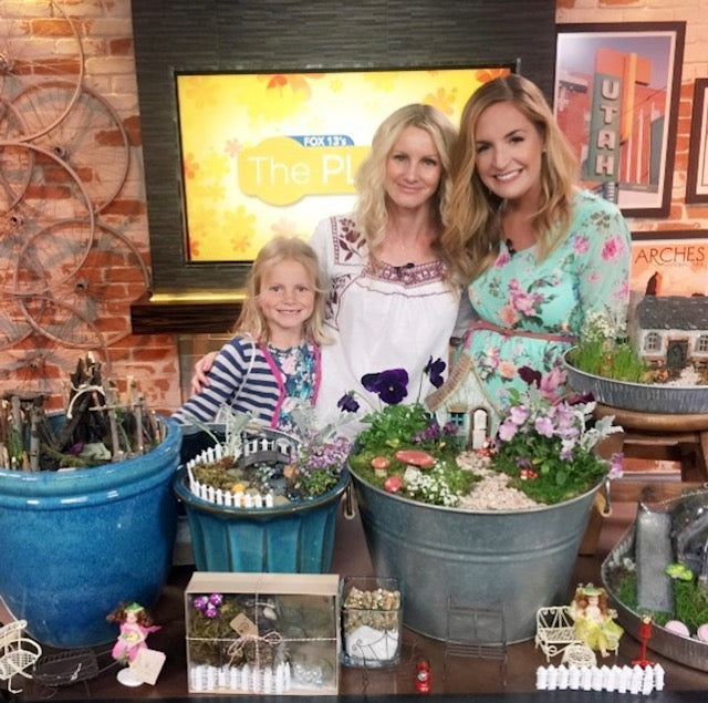 Fairy Gardens on Fox 13's THE PLACE