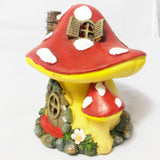 Led light up Double Mushroom House
