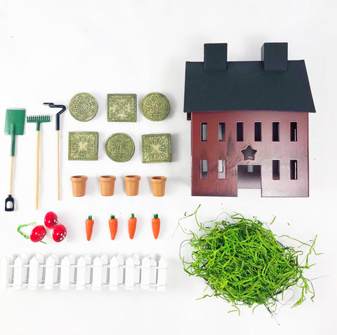 Gardening Tin House Kit
