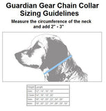 Guardian Gear SNAKE CHAIN Dog Show Collar