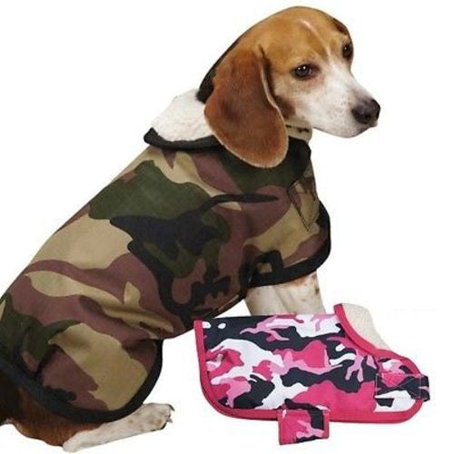 Zack & Zoey CAMO TOUGH BARN COAT - Green XS