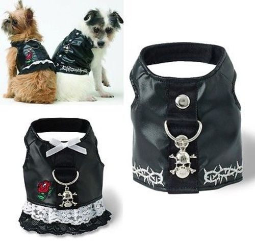 Doggles BIKER HARNESS VEST or DRESS