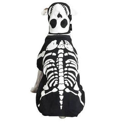 Casual Canine Glow Bones Dog Halloween Costume - Skeleton