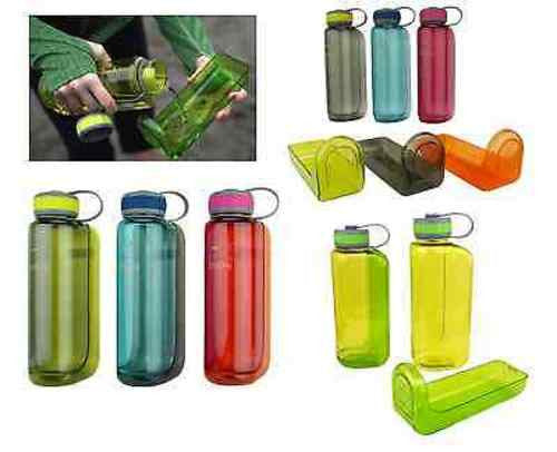 OllyDog OllyBottle Travel Water Bottle w Removable Dish