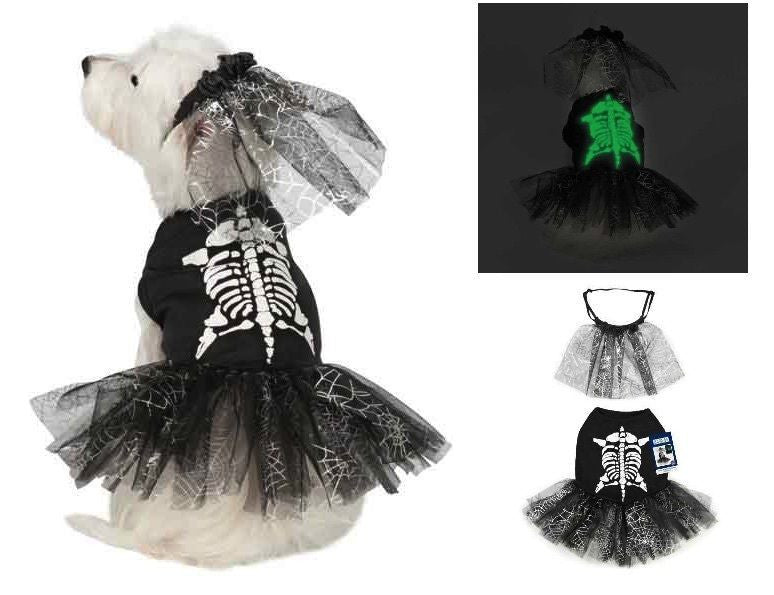 Casual Canine SKELETON ZOMBIE  Halloween Costume