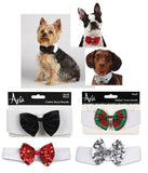 ROYAL BOW TIE Dog Collar