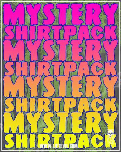 Mystery shirt Packs 2 for $20