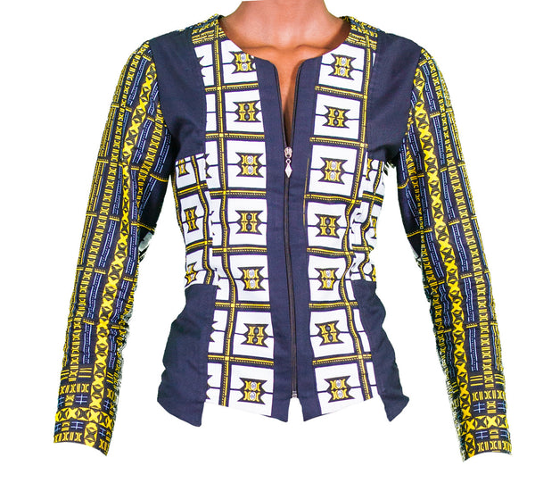 Kitenge Mix Jacket