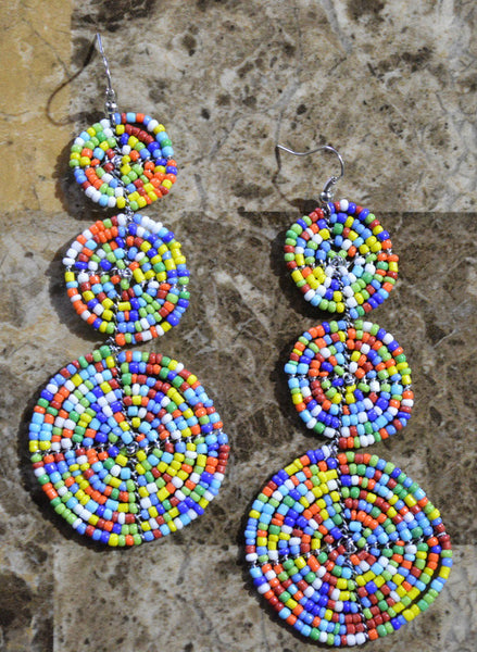 Tri-C Perle Earrings